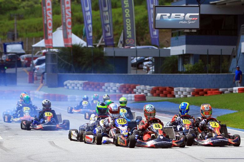 Estreia do Mineiro de Kart contou com 70 pilotos
