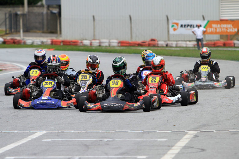 Neste sábado serão conhecidos os campeões do Mineiro de Kart