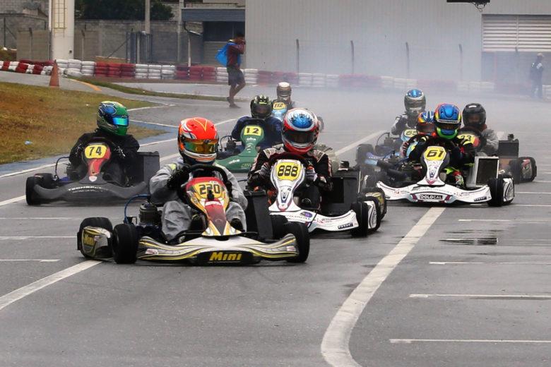 Taça Minas de Kart chegou à metade da temporada