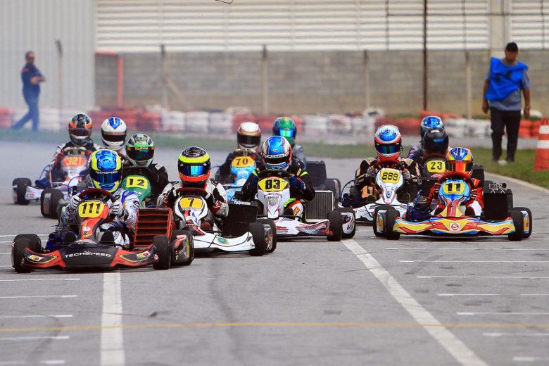 Bons pegas acirraram a briga pelos títulos da Taça MG de Kart