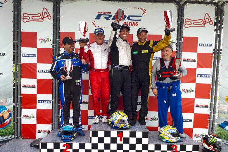 Taça Minas de Kart foi encerrada com chuva no RBC Racing