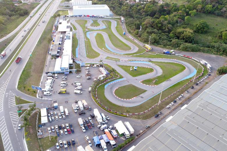 Pista liberada para a 20ª Copa Brasil de Kart   Troféu Globo