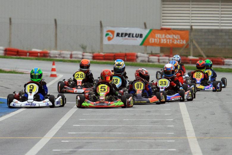 Segunda da Taça Minas de Kart agitou Kartódromo RBC Racing