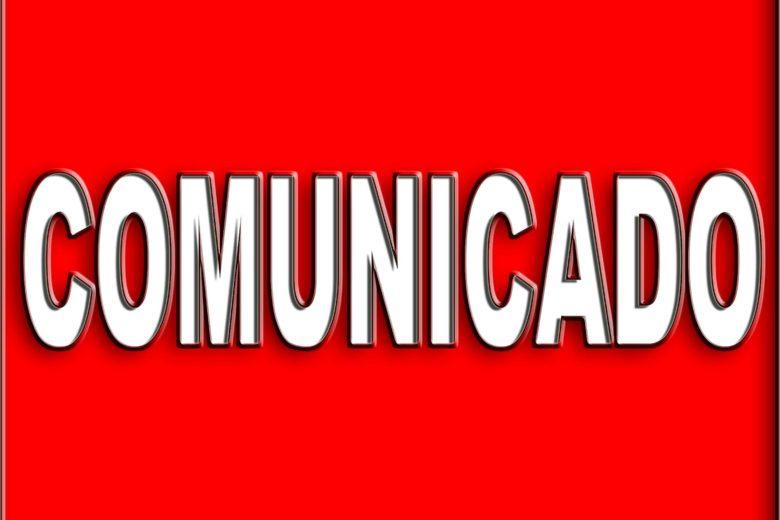 Comunicado – 03 de Dezembro de 2016