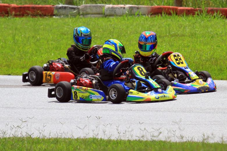 Mais de 60 pilotos agitaram a segunda rodada do Mineiro de Kart