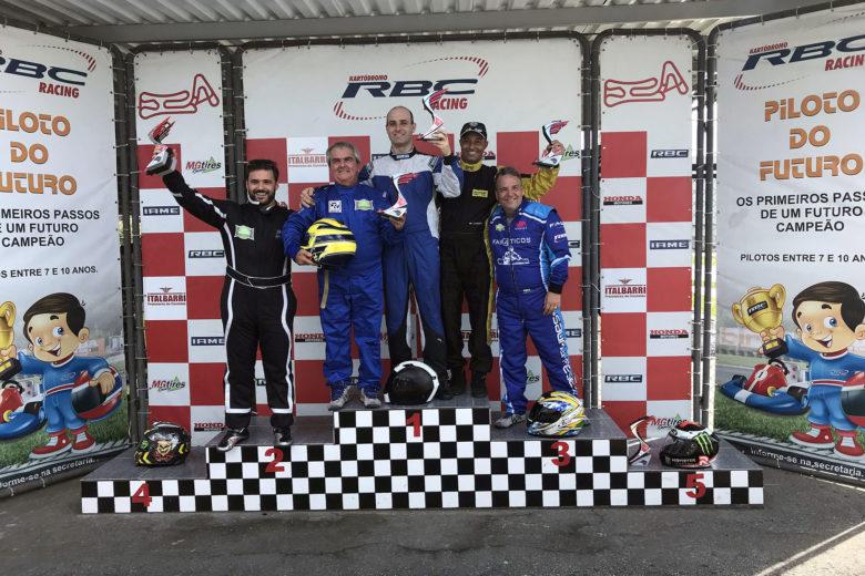 Mineiro de Kart classificou seis pilotos para o Brasileiro de Kart