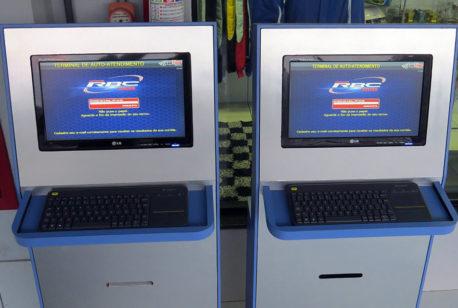 Cadastro on-line auto atendimento