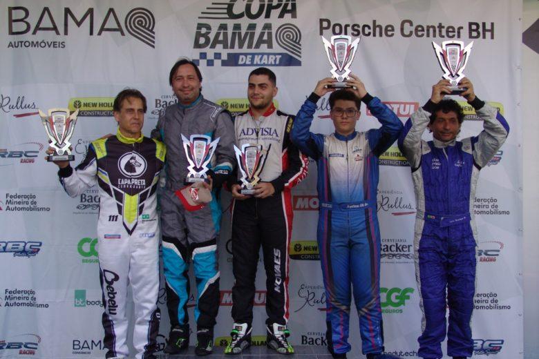 Taça Minas de Kart abriu calendário com 65 pilotos