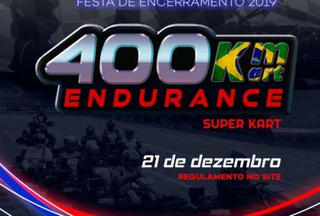 Regulamento Endurance 400 KM Kart 2019